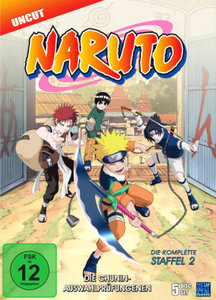 Naruto - Staffel 2: Folge 20-52
