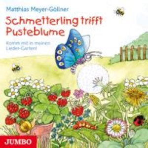 Schmetterling Trifft Pusteblume