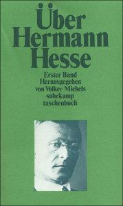 Über Hermann Hesse I