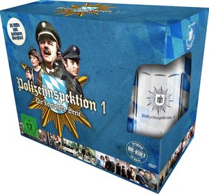 Polizeiinspektion 1 - Die komplette Serie (mit Bierglas)