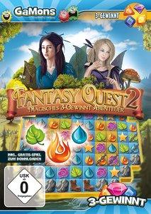 GaMons - Fantasy Quest 2 (3-Gewinnt-Abenteuer)