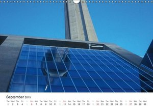modern architecture / UK-Version (Wall Calendar 2015 DIN A3 Land