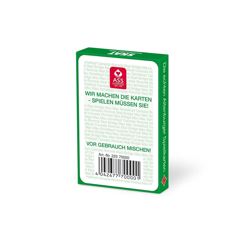 ASS Altenburger Spielkarten 70000 - Skat, französisches Bild - zum Schließen ins Bild klicken