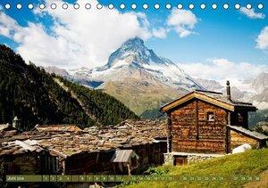 Matterhorn - markantes Wahrzeichen der Schweiz (Tischkalender 20
