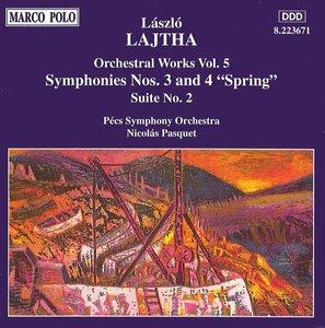 Sinfonien 3+4/Suite Du Bal.2