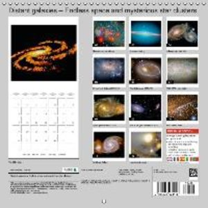 Distant galaxies - Endless space and mysterious star clusters (W