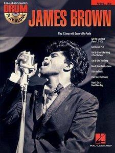 JAMES BROWN DRUM PLAYALONG VOLUME 33