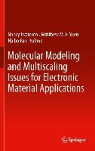 Molecular Modeling and Multiscaling Issues for Electronic Materi