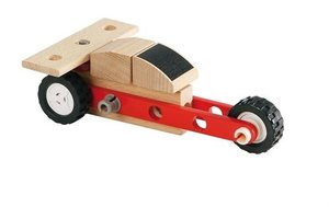 BRIO 34559 - Builder Mini Dragster, Holz Auto