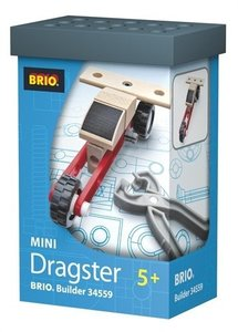 BRIO 34559 - Builder Mini Dragster, Holz Auto