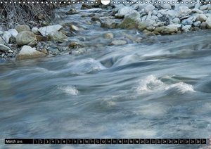 WATERPRINTS (Wall Calendar 2015 DIN A3 Landscape)