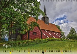 Wittich, R: Norwegens Stabkirchen (Wandkalender 2015 DIN A3