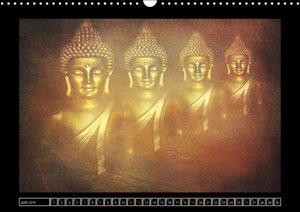 Buddha - Harmonie und Entspannung (Wandkalender 2016 DIN A3 quer