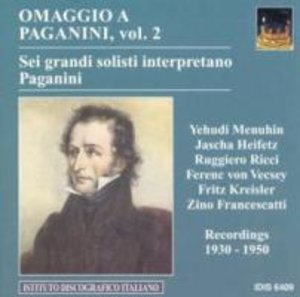 Sechs grosse Solisten spielen Paganini