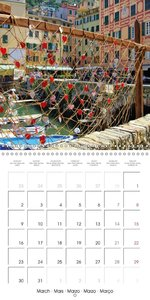 Camogli (Wall Calendar 2015 300 × 300 mm Square)