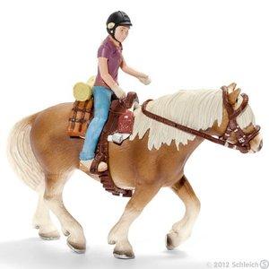 Schleich 42093 - Farm Life: Ponyreitset Camping, ohne Pferd
