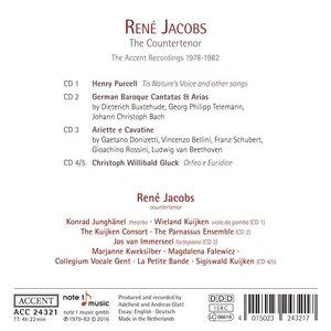 Ren? Jacobs-The Contertenor