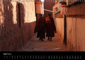 Faszinierendes Tibet (Wandkalender 2016 DIN A3 quer)