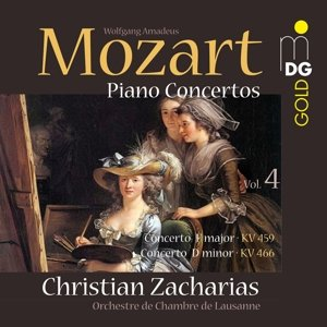 Klavierkonzerte Vol.4 (KV 459 u.KV 466)