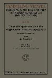Über die spezielle und die allgemeine Relativitätstheorie (Gemei