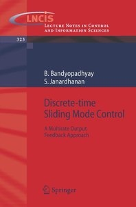 Discrete-Time Sliding Mode Control