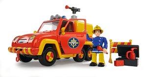 Simba 109251054 - Sam Feuerwehrauto, Venus mit Figur, 19 cm