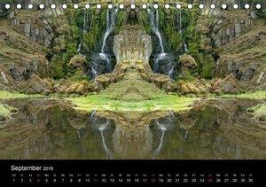 Spiegelwelten - Natur anders sehen (Tischkalender 2016 DIN A5 qu
