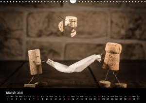 Crazy Corks - Adventures in Corkland (Wall Calendar 2015 DIN A3