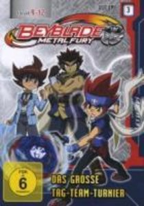 Beyblade: (3)Metal Fury-Das Groáe Tag-Team-Turnier