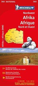Michelin Nationalkarte Nordwest-Afrika 1 : 4 000 000