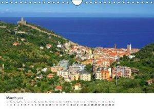 Riviera di Ponente (Wall Calendar 2015 DIN A4 Landscape)
