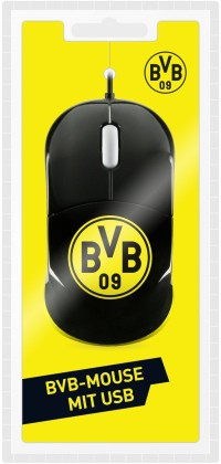 Speedlink Snappy BVB-Emblem Maus USB - zum Schließen ins Bild klicken