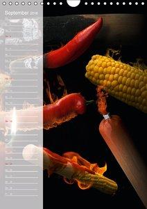 Crazy Kitchen - Der verrückte Küchenplaner (Wandkalender 2016 DI
