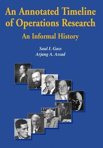 An Annotated Timeline of Operations Research