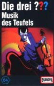 Die drei ??? 084. Musik des Teufels (drei Fragezeichen). Cassett