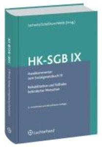Handkommentar zum Sozialgesetzbuch IX (HK-SGB IX)