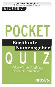 Pocket Quiz - Berühmte Namensgeber