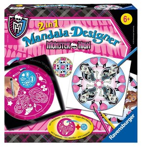 Ravensburger 297450 - Monster High, Mandala