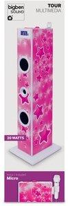 Sound Tower TW5 - Multimedia-Turmlautsprecher, Stars