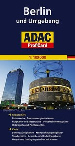 ADAC ProfiCard Berlin 1 : 100 000