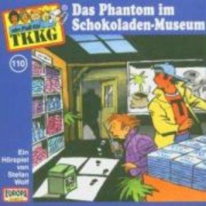 TKKG 110. Das Phantom im Schokoladen-Museum. CD