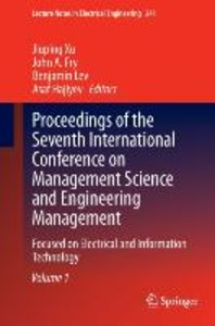 Proceedings of the Seventh International Conference on Managemen