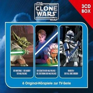 Star Wars - The Clone Wars. Hörspielbox Vol. 1