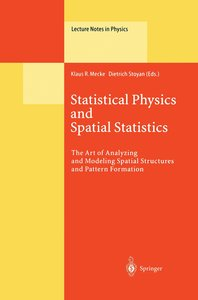 Statistical Physics and Spatial Statistics