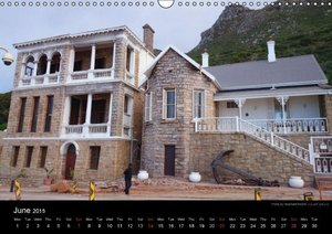 Monuments of South Africa 2015 (Wall Calendar 2015 DIN A3 Landsc