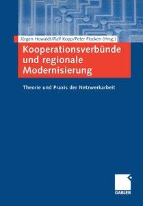 Kooperationsverbünde und regionale Modernisierung