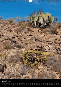 Island impressions Tenerife - El Hierro / UK-version (Wall Calen