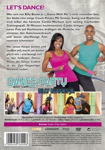 Dance Party Boot Camp mit Billy Blanks Jr.