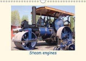 Steam engines (Wall Calendar 2015 DIN A4 Landscape)