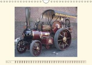 Steam engines (Wall Calendar 2015 DIN A4 Landscape)